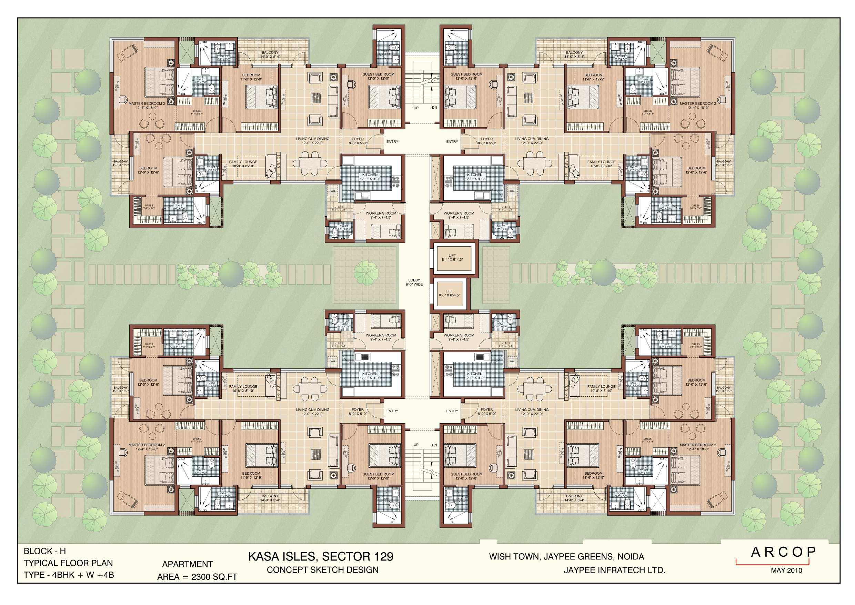 Kasa Isles Block Plan Type H with Large Area